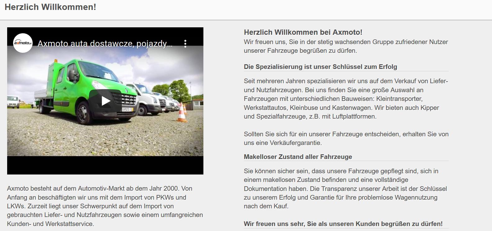Copywriter z niemieckim, prowadzienie konta, sprzedaż z niemieckim, branża motoryzacyjna